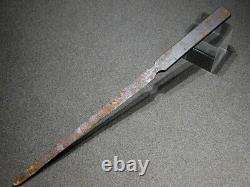 VERY RARE EDO-HIGO Iron Short KOGAI 18-19thC Japanese Edo Tsuba Koshirae Antique