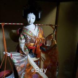 Vintage japanese doll kimono Geisha beautiful Figure antique japan