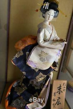 Vintage japanese doll kimono Geisha beautiful Figure antique japan 46.0cm 18.1