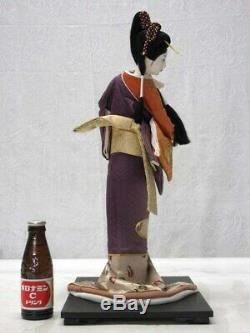 Vintage japanese doll kimono Geisha beautiful Figure antique japan 47.0cm 18.5
