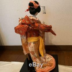 Vintage japanese doll kimono Geisha beautiful Figure antique japan 54.0cm 21.2
