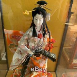 Vintage japanese doll kimono Geisha beautiful Figure antique japan 64.0cm 25.1