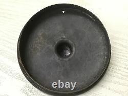 Y1403 KETTLE copper pot signed teapot Japanese Tea kitchen Japan antique