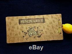 YOSHITOSHI CHIKANOBU Full color Ukiyo-e Album Samurai war Japan Historical Tales