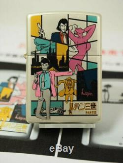 ZIPPO Lupin The 3rd 50th Anniversary Oil Lighter Vol 4 Multi Color Anime Japan
