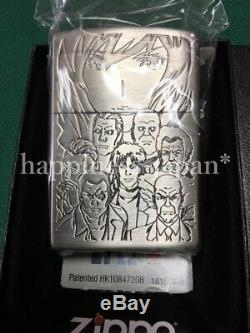 Zippo Oil Lighter GHOST IN THE SHELL Motoko Kusanagi Gray Anime Japan F/S